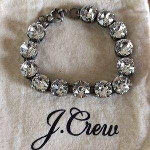 J Crew Swarovski crystal bracelet